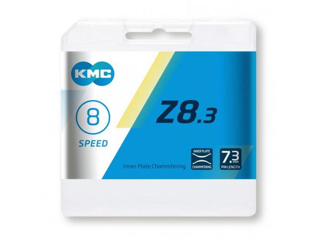 KMC Z8 Ketting 7/8-speed, silver/grey